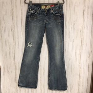 Sz29-7 For All Mankind The Great China Wall Jeans